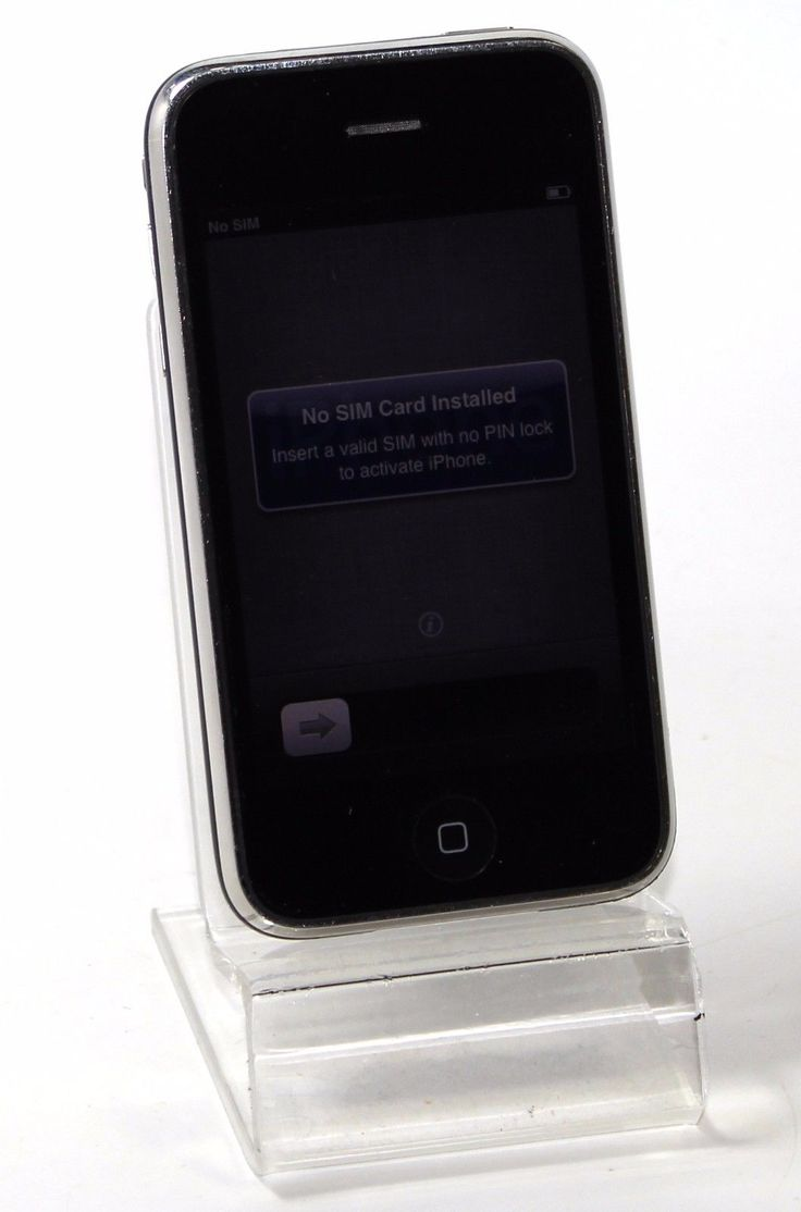 Apple iPhone 3GS 8GB (Black) - AT&T - CLEAN ESN - ACCEPTABLE CONDITION | eBay