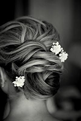 Wedding hair up do