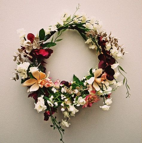 #flowers_wreath