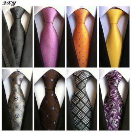 Fashion ties for men vestido silk tie gravata business dress necktie