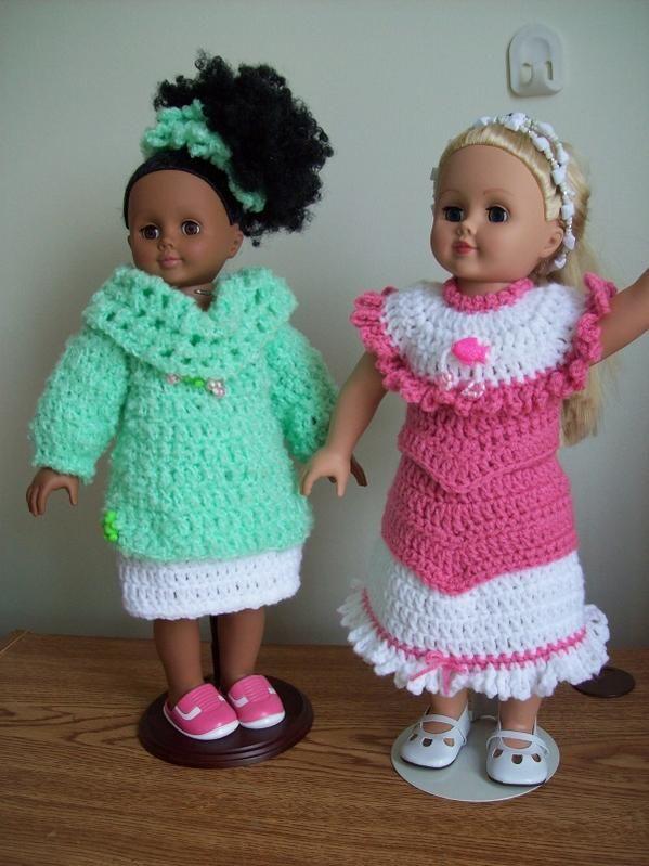 The 25 Best 18 Doll Crochet Patterns Images On Pinterest Crochet