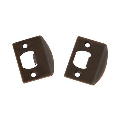 First Watch 1063 2-3/4inch x 1-1/8inch Venetian Bronze Full Lip Strike Plate