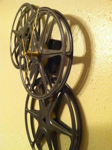 film-reel clock - HOME SWEET HOME