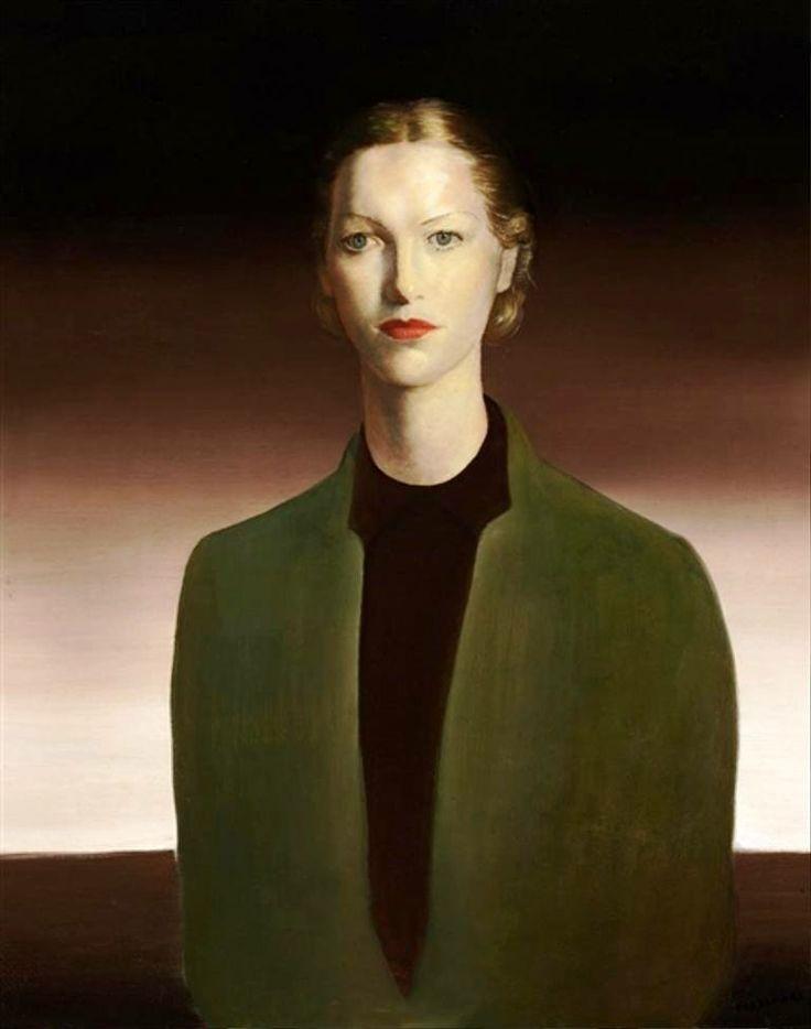 Cândido Portinari - Portrait of Juanita Blank, c. 1937. Oil on canvas, 32 × 25 3/4 in. (81.3 × 65.4 cm). Photo: Sotheby's New York.
