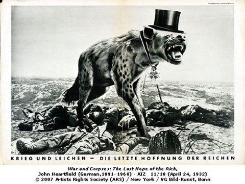London's Tate Modern shows photomontages of John Heartfield - World Socialist Web Site