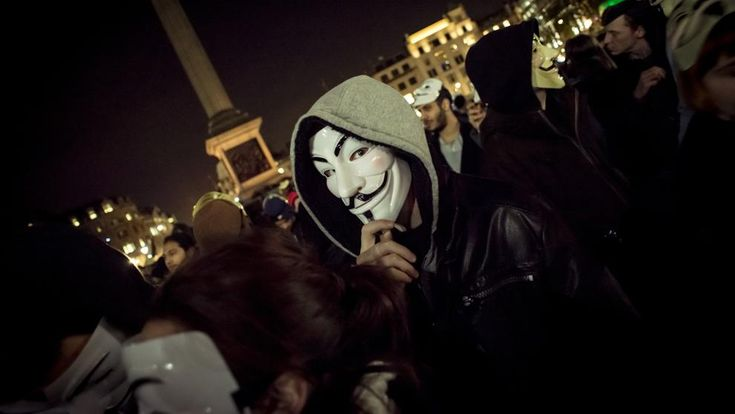 Anonymous : la revolución que rie bajo la máscara / @LaVanguardia | #readyfordigitalcitizenship