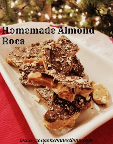 Homemade-Almond-Roca-Recipe | Desserts! | Pinterest