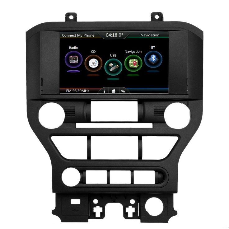 """==> [Free Shipping] Buy Best 2 din 8"""" Touch Screen 720P Car GPS Navigation Multimedia Player Upgrade Special Design for Ford Mustang 2015 2016 2017 Online with LOWEST Price 