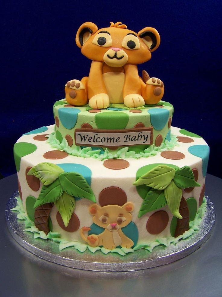 Lion King Baby Shower Amazing Cake Inspirations