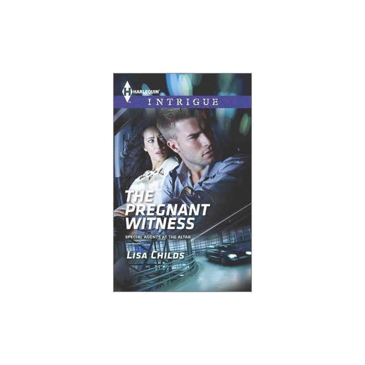 The Pregnant Witness ( Harlequin Intrigue: Special Agents at the Altar) (Paperback)