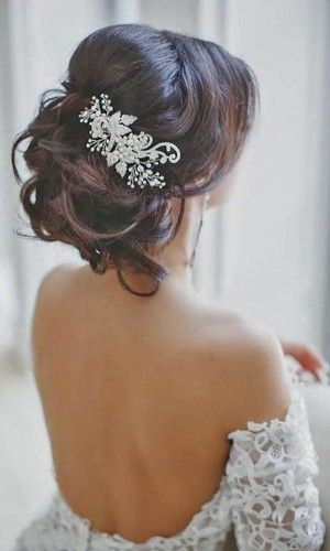 romantic bridal hairstyles 27                                                                                                                                                     More