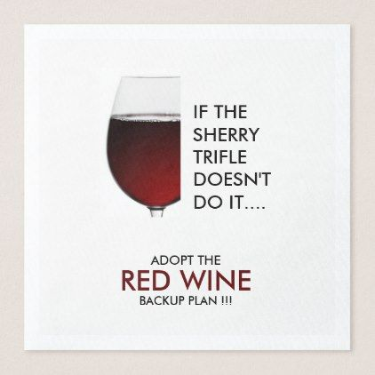 Party drinking joke red wine photograph paper dinner napkin - kitchen gifts diy ideas decor special unique individual customized