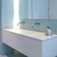 contemporary bathroom by Sarah Jeffeys Design