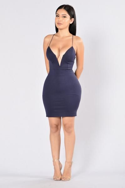 Love To Watch Me Leave Dress- Navy http://amzn.to/2tOYioH