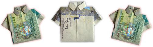 17 best ideas about money origami tutorial on pinterest for Cute shirts for 5 dollars
