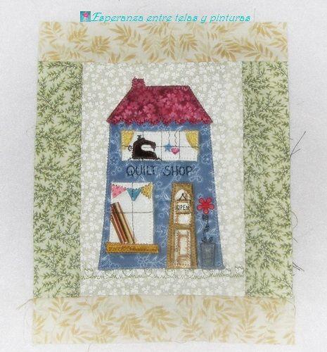 Esperanza entre telas y pinturas: Hogar-blog, dulce hogar-blog!!