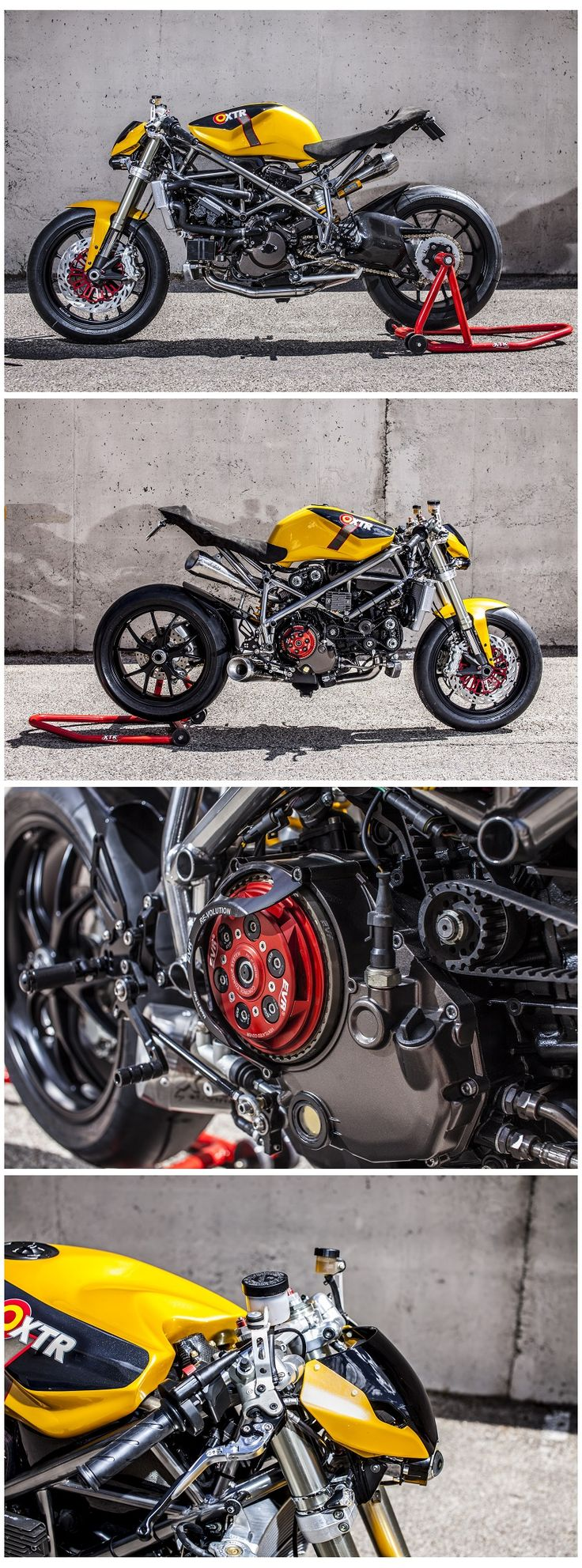 Ducati 848 Streetfighter by XTR Pepo Photos by Cesar Godoy.