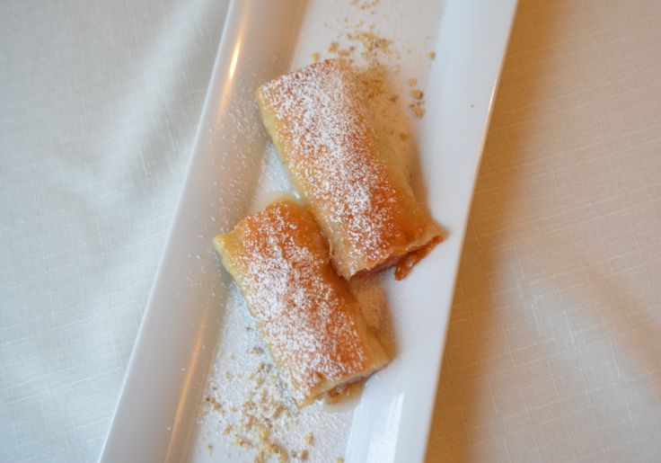 Filo pastry with Lokum