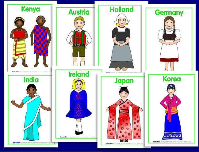 Children from around the world posters