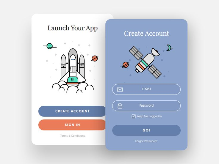 Sign Up Window - Daily UI #001