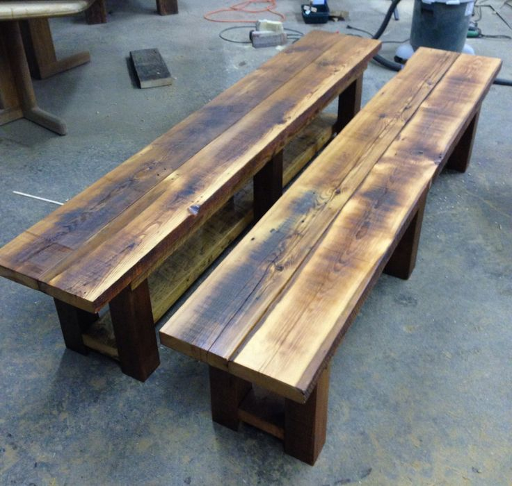 8 Best Images About Reclaimed Wood Benches On Pinterest