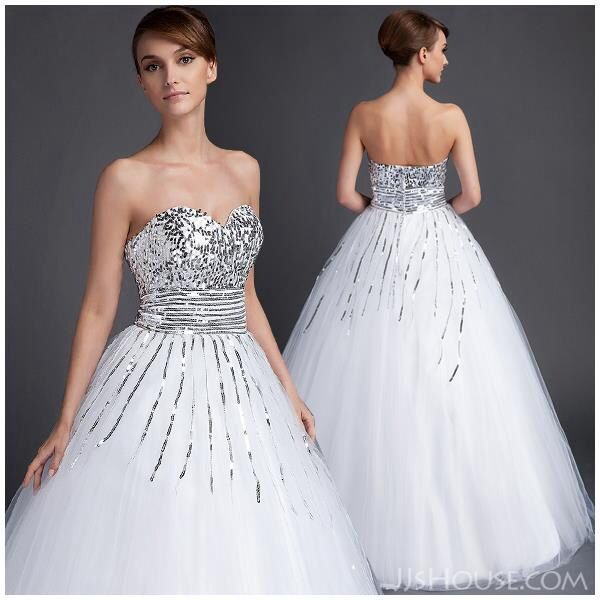 21 best images about dallas cowboys wedding on pinterest for White and silver wedding dresses