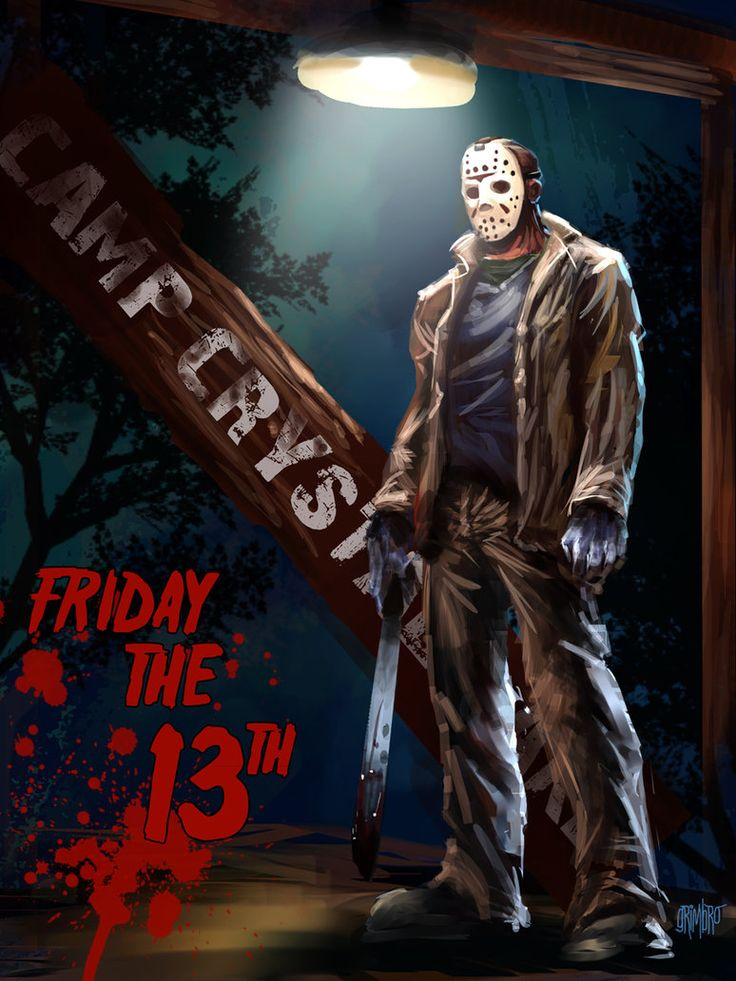 Happy Friday the 13th by Grimbro on deviantART