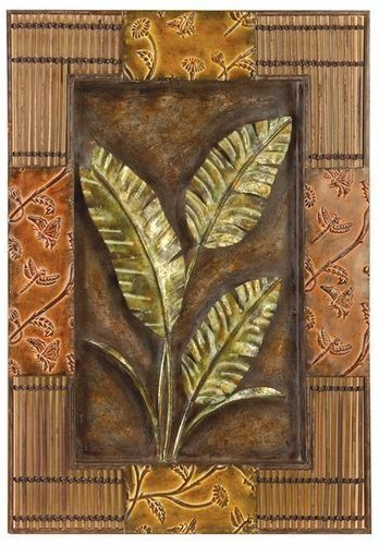 1000 images about decorating ideas tropical on for Tropical metal wall art