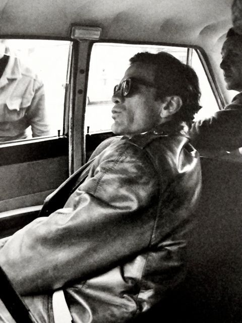 Pier Paolo Pasolini  1966 por Ugo Mulas