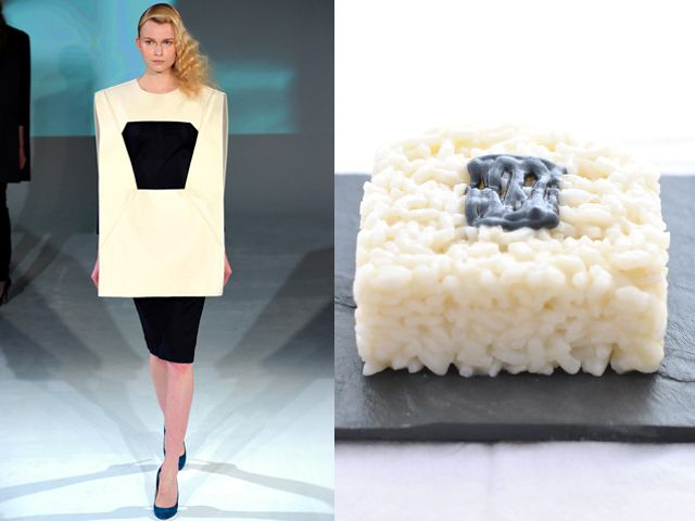 Chalayan fw 2012-13 / Risotto & Champagne