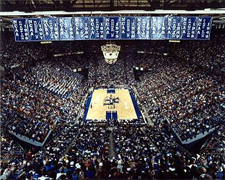 Rupp Arena.  Basketball Capital of the World and my home away from home.