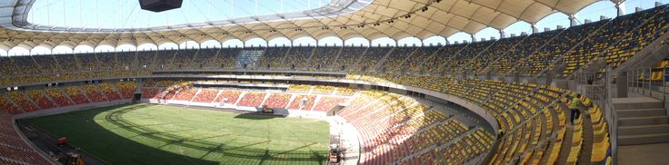 Scaune stadion, echipare Arena Naționala , vedere din inelul 3