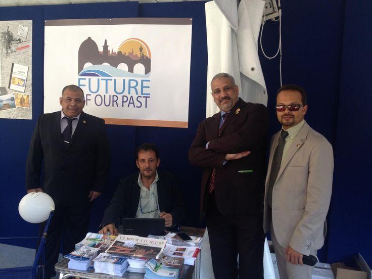 Incontro tra i Partner del progetto #FutureOurPast in occasione dell'incontro al Festival della Letteratura di Viaggio, presso la Società Geografica Italiana con gli amici di IEREK e della Fondazzjoni Temi Zammit @ENPICBCMed @lett_viaggio @IEREK_Team @Valletta_2018 ENPI CBC Med Programme