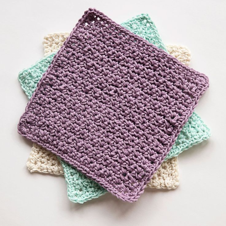 Diagonal Knit Dishcloth Pattern By Jana Trent : 89 best Dishcloths (knit & crochet) images on Pinterest Knitting, Croch...