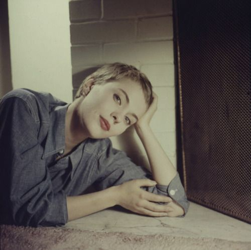 Jean Seberg by Peter Basch