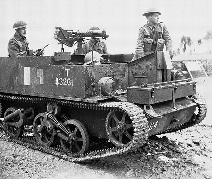 Saskatoon Light Infantry, Italy March 1944 on (universal carrier) Bren gun carrier