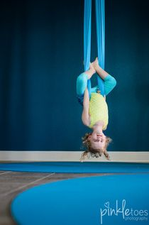 Whoa! This looks so great for any child.  Hanging mixed with deep proprioceptive input - yes please!  I need to get one of these!