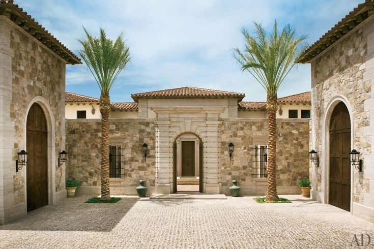 A palatial italian style home in las vegas blends modern for Architecture firms in italy