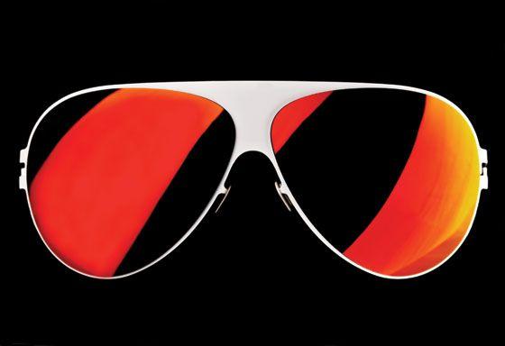I wear my sunglasses at...on mars.
