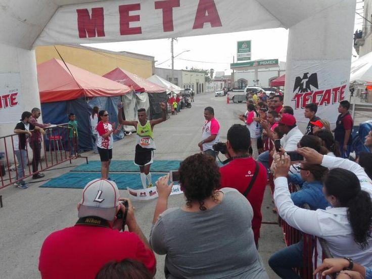 Antonio Garcia Olvera se llevó los 24 k Bermejillo