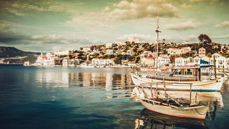 The island of Kastellorizo, Greece.