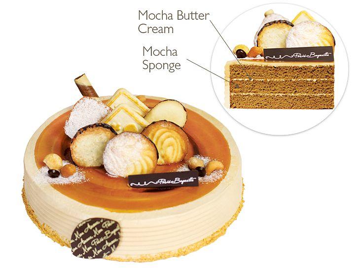 Paris Baguette Bakery Café | Mocha Bytter Cream Cake