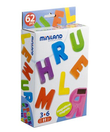 This Magnetic Uppercase Letter Set is perfect! #zulilyfinds