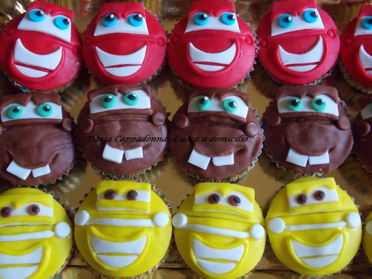 cup cake cars