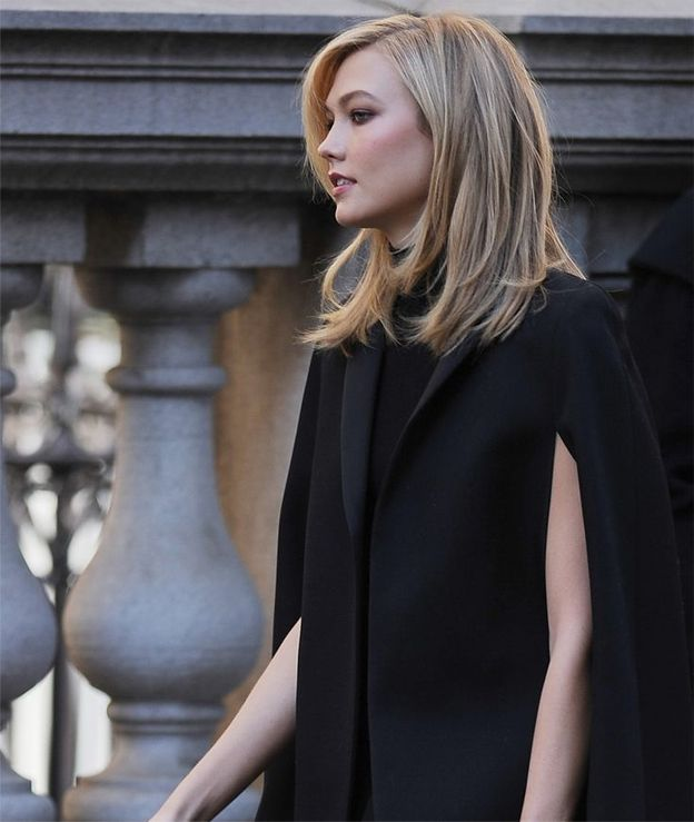 Cute Long Bob Hairstyles 2015 Karlie Kloss