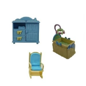 Fisher Price Loving Family Dollhouse BABY NURSERY REPLACEMENT Home For  Holidays