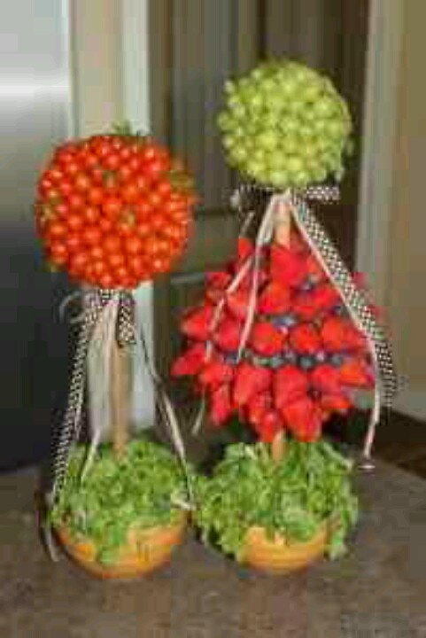 Best candy and food topiaries images on pinterest