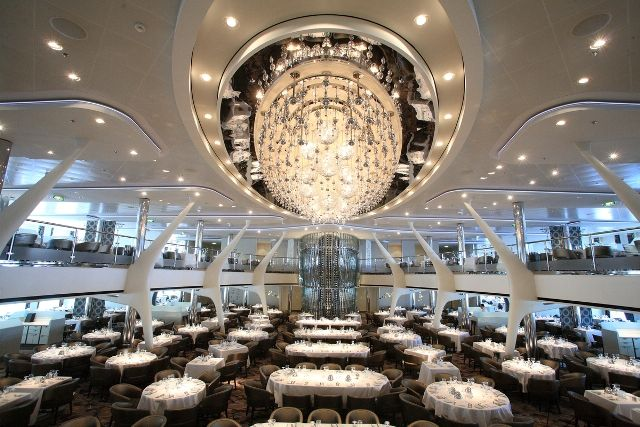 Opus Main Dining Room - Celebrity Reflection