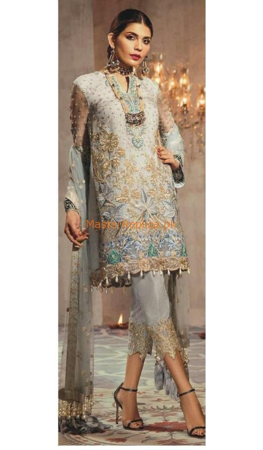 09230791e6 ANAYA Chiffon Master Replica 2019 in 2019 | Plants | Dresses, Pakistani  dresses, Pakistani designer suits