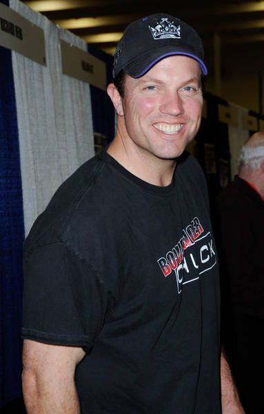Adam Baldwin. I LOVE his smile!!! (Probably because you almost never see it in any of the shows he does.)